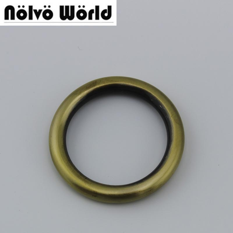 Rings 5.0mm line 1 1/4 inch 32mm o rings 30pieces/lot bags' accessories antique alloy metal welded o ring chinese online shop 10pcs lot 9x5x2 mm o rings rubber sealing o ring 9mm od x 2mm cs
