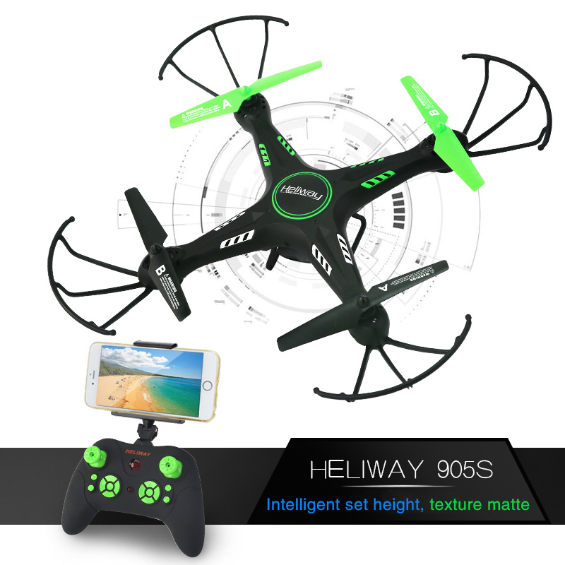 HELIWAY RC font b Drone b font with Wifi 2MP Camera font b Drone b font
