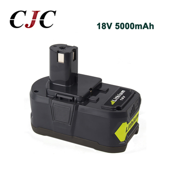 High Capacity 18V 5000mAh Rechargeable Battery For Ryobi P108 RB18L40 P2000 P310 For Ryobi For ONE+ BIW180 Li-Ion
