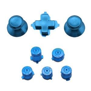 Image 5 - アルミニウム金属サムスティックジョイスティックアナログキャップ弾丸 ABXY ガイドボタン D パッド Dpad ボタン Xbox 1 コントローラの交換