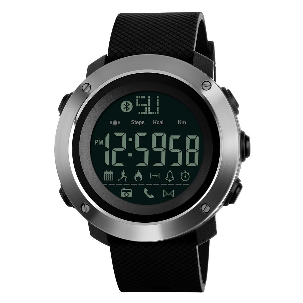Herrenuhren Uhren DemüTigen Skmei Mode Bluetooth Smart Männer Uhren Kalorien Digitale Sport Schrittzähler Led Uhr Anruf Erinnerung Wasserdichte Armbanduhr Zegarki Mens-quarz-sport-armbanduhren Wir Haben Lob Von Kunden Gewonnen