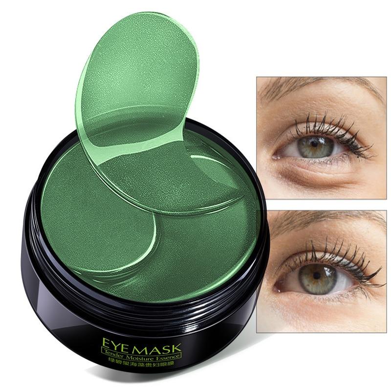 60pcs Dark Circles Remove Collagen Crystal Eye Mask Hydrogel Eye Patches for Eyes Care Anti Aging Anti-Wrinkle Gel Sleep Mask