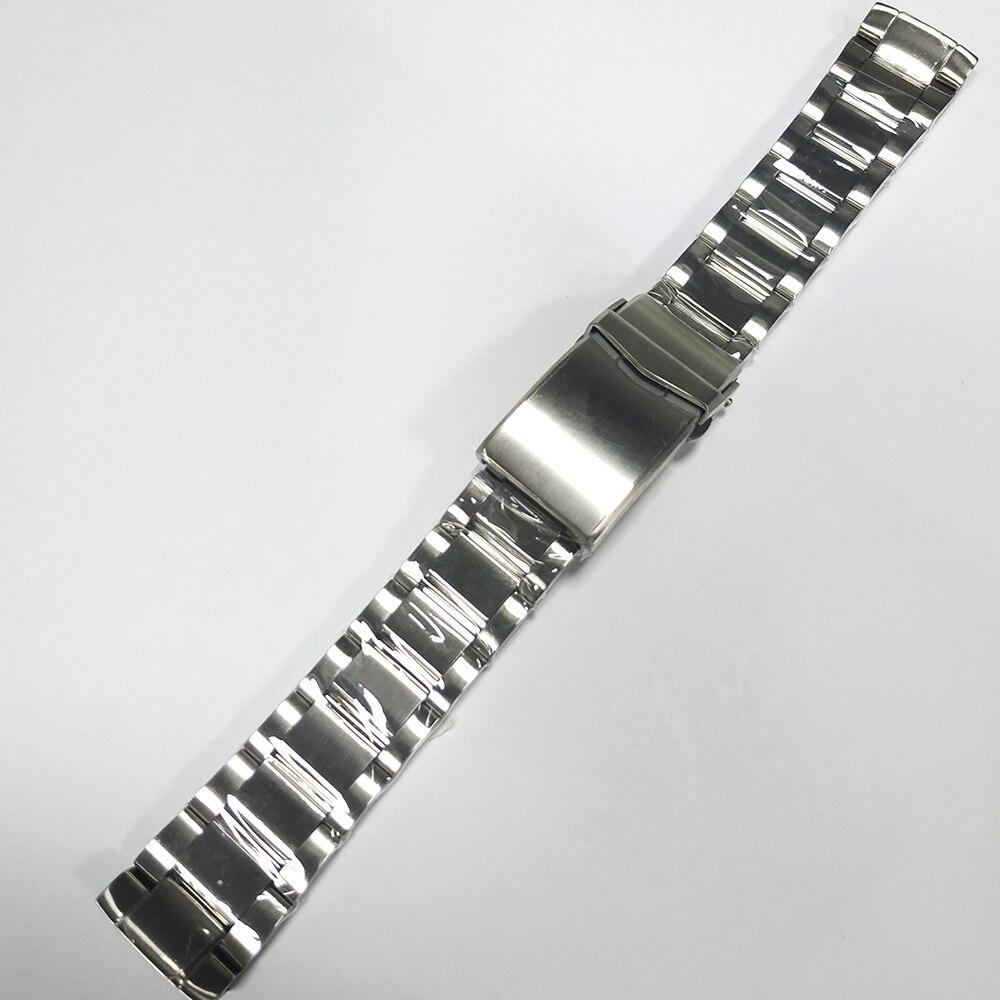 Bracelet de montre en acier inoxydable San Martin 62MAS bracelet de remplacement de montre de haute qualité