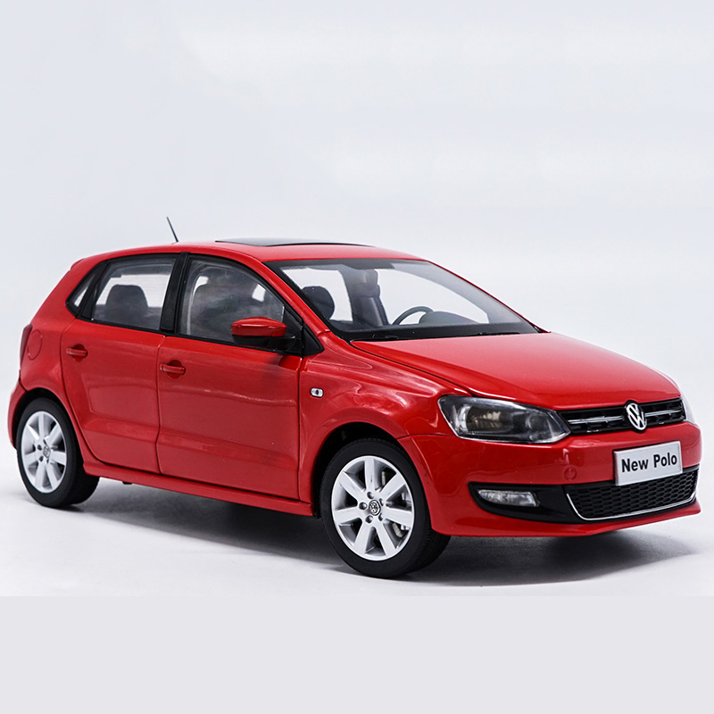 New 1:18 POLO Alloy Diecast Car Model Toys For Kids Christmas Gifts Collection Original Box Free Shipping for children gift scale new 1 18 citroen c quatre 2012 hatchback alloy diecast model car toy gift collection with original box free shipping