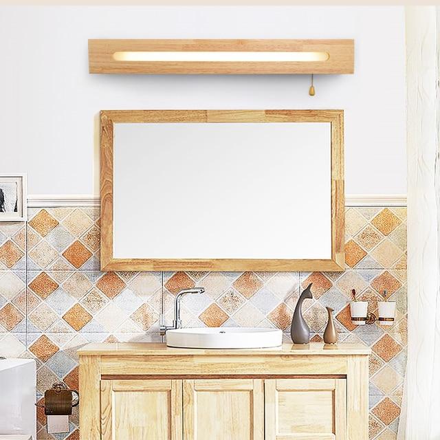 Trazos бра для ванной свет современный деревянный для спальни зеркало в ванной настенной лампы тщеславия свет лофт настенный светильник 3005 купить на