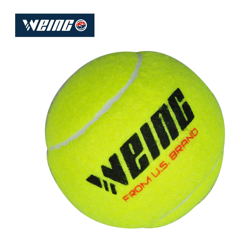 Tennis WEING Genuine WD-20 New Summer Wool Men And Women Beginners Training Yellow Green Tennis