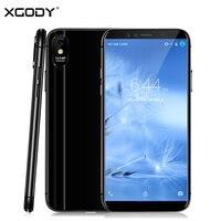 XGODY M78 Pro 4G LTE смартфон 5,5 дюйма 18:9 3 GB + 32 ГБ Face ID мобильного телефона Android 6,0 4 ядра 13MP быстро зарядная ячейка телефоны