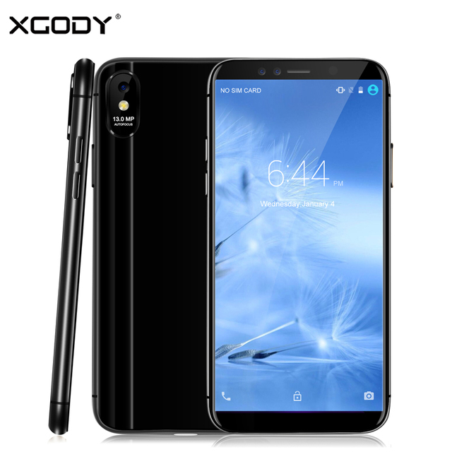 XGODY M78 Pro 4G LTE Smartphone 5.5 Inch 18:9 3GB+32GB Face ID Mobile Phone Android 6.0 Quad Core 13MP Fast Charge Cell Phones