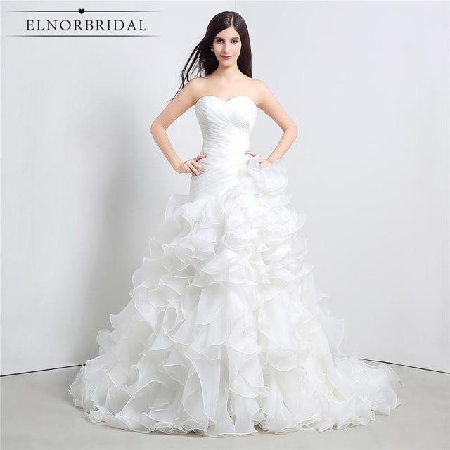 Latest Mermaid Wedding Dresses 2017 Vestidos De Noiva Sweetheart ...