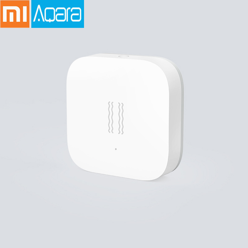 100% Original Xiaomi Mijia Aqara Vibration / Shock Sensor Built In Gyro Motion Sensor For Mi Home App