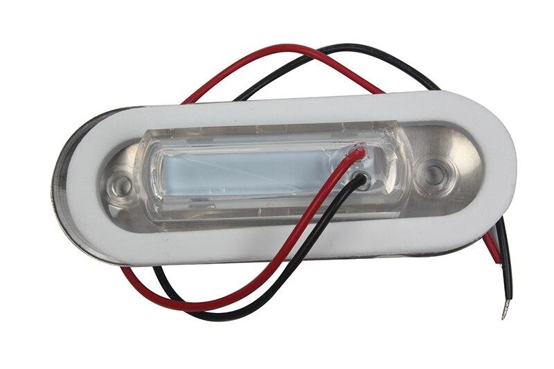 Image 2 - Marine Boat Yacht LED Light Courtesy Light Blue Hallway Lamp 12V Aisle Lighting-in Marine Hardware from Automobiles & Motorcycles