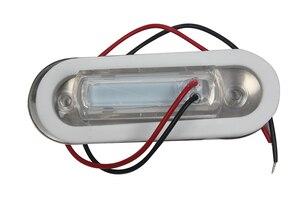 Image 2 - Marine Boat Yacht LED Light Courtesy Light Blue Hallway Lamp 12V Aisle Lighting