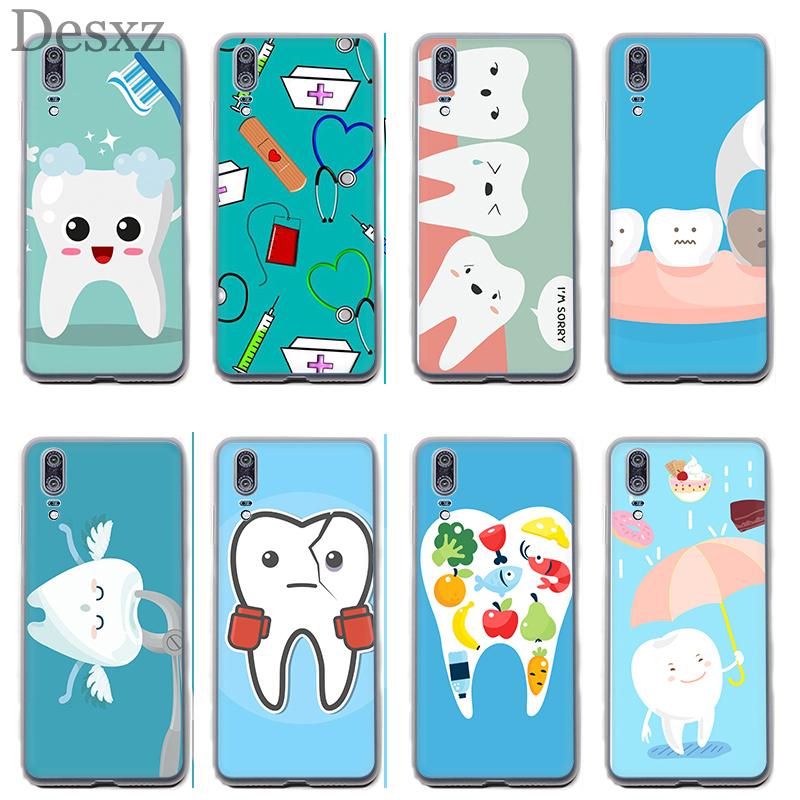 Fitted Cases Phone Bags & Cases Phone Case Cover Nurse Doctor Dentist Stethoscope Tooth Injections For Huawei Mate 10 20 Pro Lite Nova 3 3i Y6 Prime 2018 Latest Technology