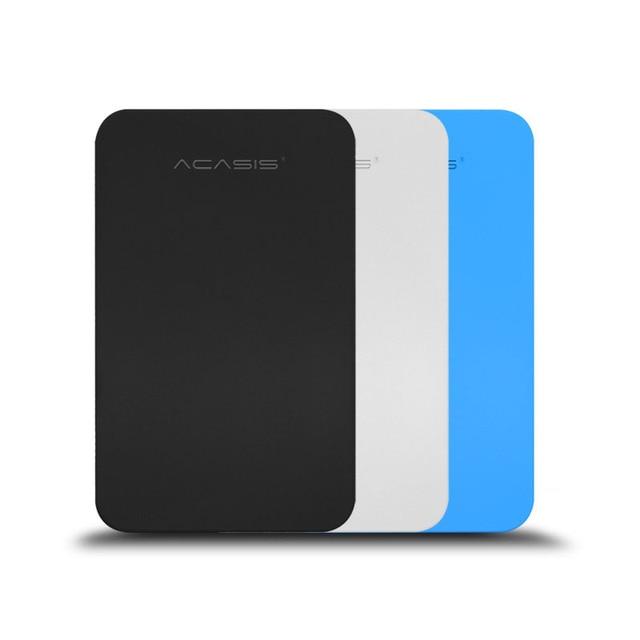 """На Продажу ACASIS Оригинальный 2.5 """"НОВЫЙ Портативный Внешний Жесткий Диск 500 ГБ USB3.0 Высокая Скорость HDD для ноутбуков и настольных компьютеров"""