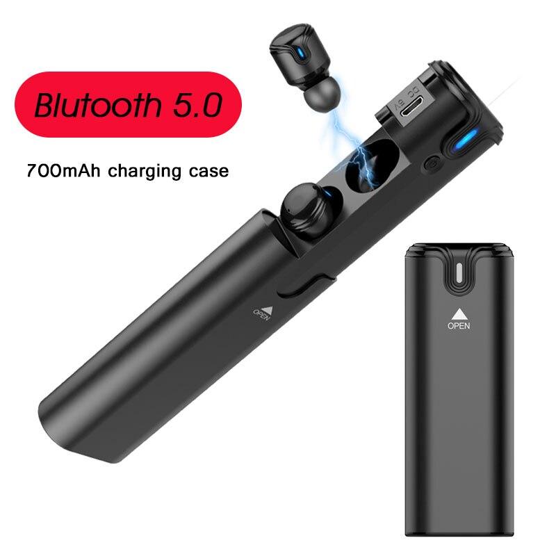 TWS Bluetooth Écouteur Pour iPhone X XS 8 7 Plus Antibruit Écouteur Sans Fil Pour Xiaomi Samsung S9 S8 Plus S7 S6 Bord Plus