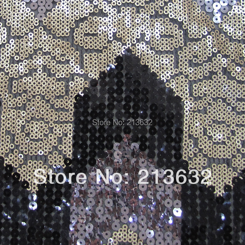 POz28 sewing machine quality sequins embroidery fabric clothing sewing machine embroidery fabric wholesale lace fabric sewing