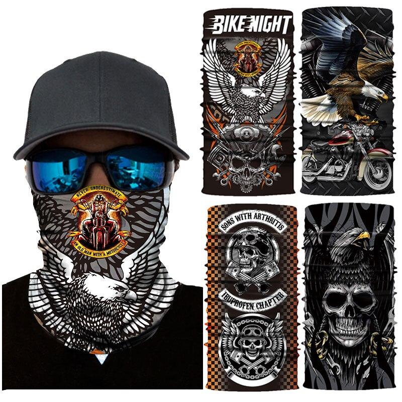 Colorful Dog Paws Face Mask UV Sun Mask Dust Wind Neck Gaiter Magic Bandana