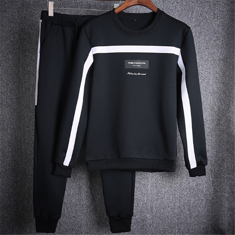 2017 New Brand Tracksuit Men Hoodie Sportswear Active Casual Sweatshirts Man Tracksuits With Pants