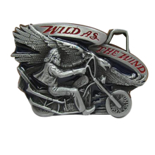 Women/Men/Girl/Boy WILD AS THE WILD belt buckle metal designer Diy jeans/shorts/dress/harem/pants/skirt motorcycle belt buckles