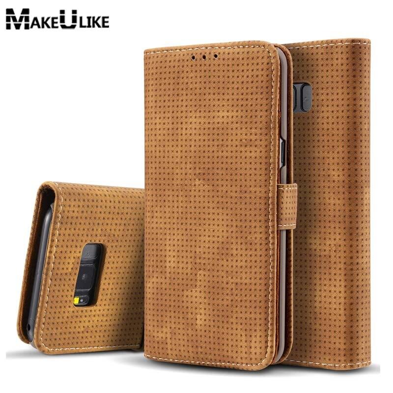 MAKEULIKE Brieftasche Fällen Für Samsung Galaxy S8 Plus Flip Abdeckung neue Stil Pu-leder Handytasche Fall Für Samsung S8/S8Plus Hoesje