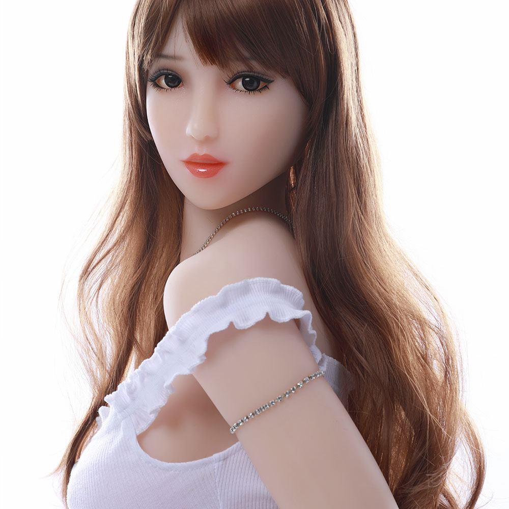 Cosdoll 165cm <font><b>Sex</b></font> <font><b>Toys</b></font> Big <font><b>Boobs</b></font> Metal Skeleton Realistic Pussy Vagina Silicone Robots <font><b>Sex</b></font> Dolls for Men image