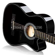 free shipping Ballads 38inch  guitar musical instrument acoustic guitar length of the 96cm