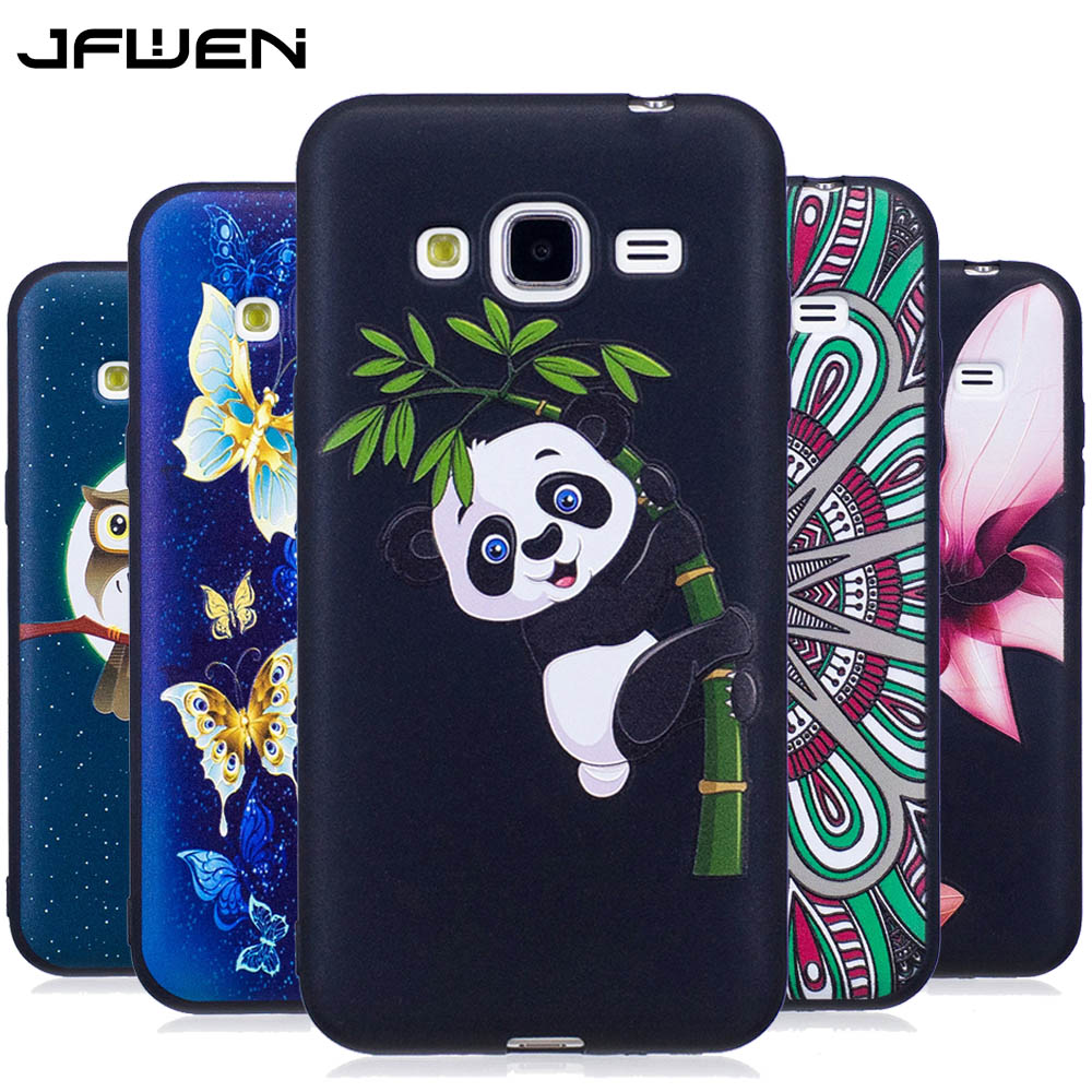 Galleria fotografica JFWEN For Funda Samsung J3 2016 Case Silicone 3D Cartoon Soft TPU Phone Case Back For Cover Samsung Galaxy J3 2016 Silicone Case