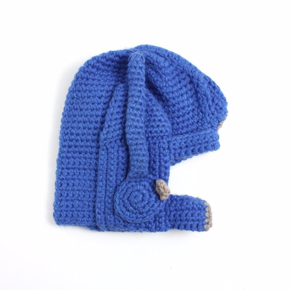 Transformer Optimus Prime Crochet Costume Hat Handmade Balaclava Cap