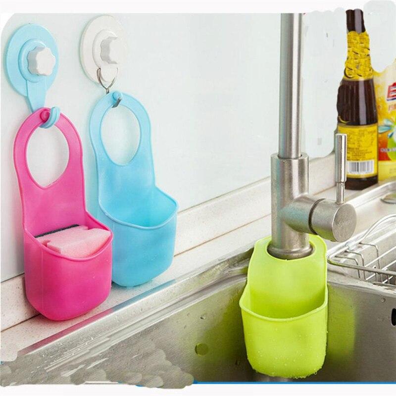 Hot Cradle Creative Portable Bathroom Hanging Strainer Organizer Washing Basket Kitchen Gadget Leaking Basket Storage Supplies