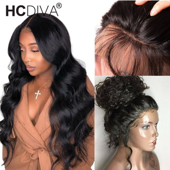 360 Lace Frontal Wig Pre Plucked With Baby Hair Malaysian Body Wave Lace Front Wig 150% Remy Human Hair Lace Wig For Black Woman