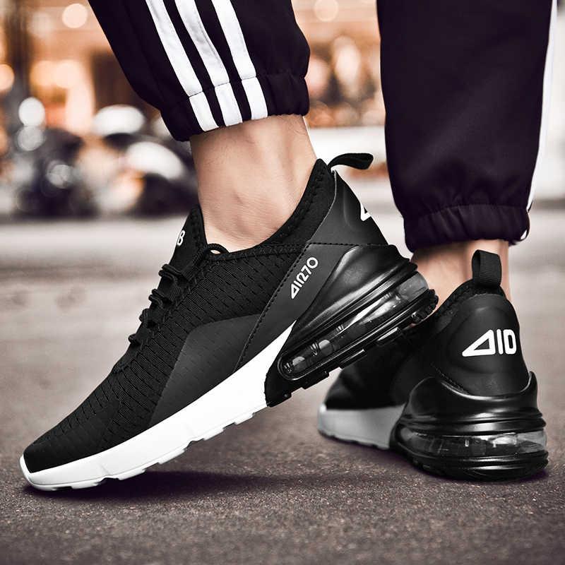 Мужская повседневная обувь; сезон весна-осень; дышащие кроссовки; мужская спортивная обувь с воздушной подушкой; трендовые кроссовки; Мужская обувь; большие размеры