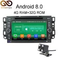 Sinairyu 4G RAM Android 8.0 Car DVD For Chevrolet Aveo Epica Captiva 2004 2011 Octa Core 32G ROM Radio GPS Player Head Unit