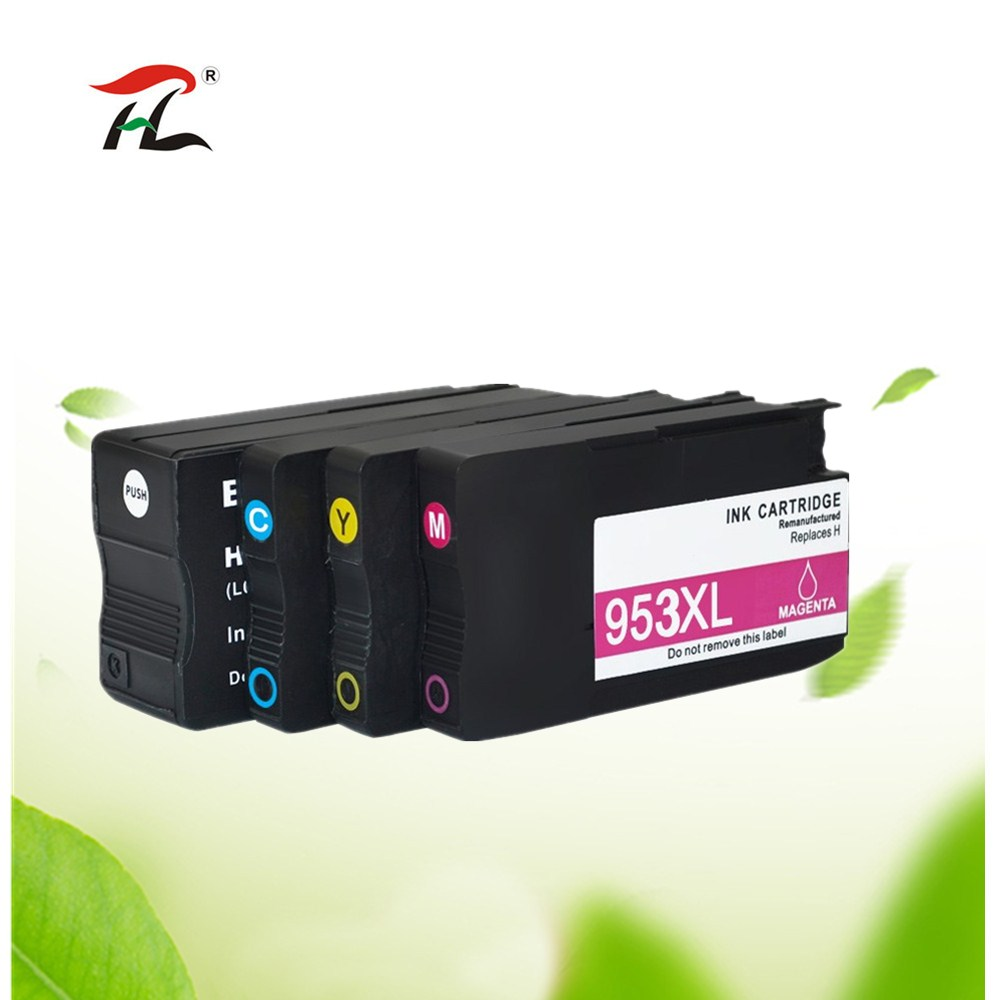 Compatible Ink Cartridge <font><b>953</b></font> 953XL for <font><b>HP</b></font> pro 7740 8210 8218 8710 8715 8718 8719 8720 8725 8728 8730 8740 printer for hp953 image