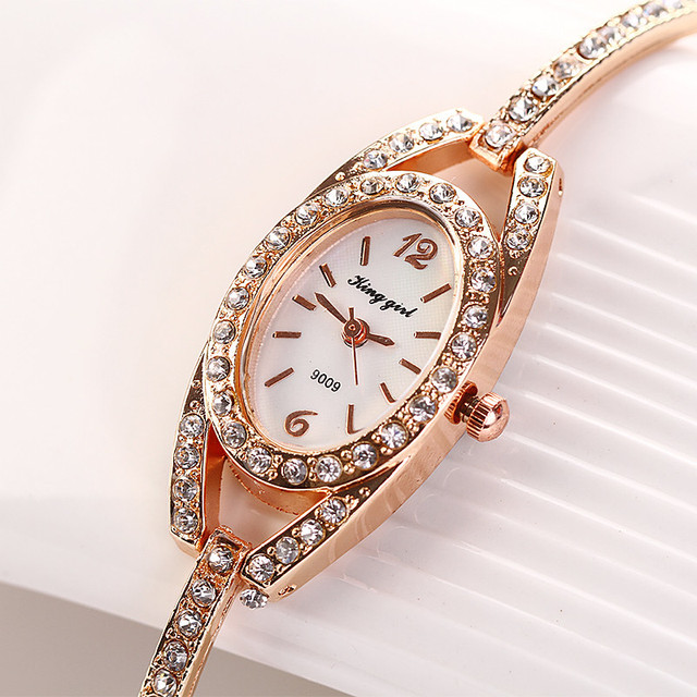 Brief Design Elegance Fashion montre femme 2018 Relogio Womens Watch Minimalism Rhinestone Crystal Stainless Steel Wrist Watches