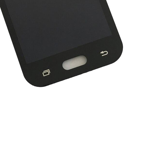 100% test Pour Samsung Galaxy J1 Ace J110 SM-J110F J110H J110FM Écran lcd Avec Écran Tactile Digitizer Assemblée Peut pas ajuster 4