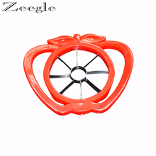 Zeegle Multi-Functional Fruit Slicer Noverty Pear Divider Portable Fruit Cutter Salad Make Tools Vegetable Fruit Tools