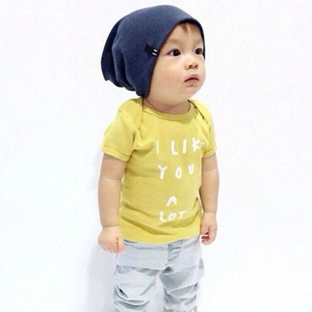 2017 Новый Летняя Мода дети дети хлопок печати с коротким рукавом Футболки для девочек мальчик A2