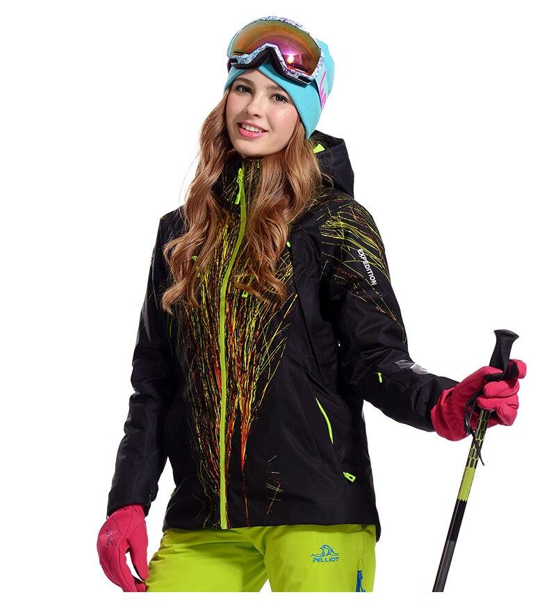 Extérieur imperméable coupe-vent veste pour femmes hiver coton manteau femmes respirant cyclisme escalade veste pour Ski Snowboard - 2