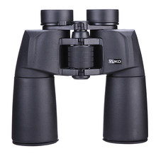 SCOKC 15x50 Waterproof Binoculars Professional Telescope Bak4 Prism Optics Camping Hunting Scopes High Power Binoculars