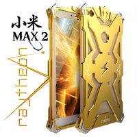 Zimon For XIAOMI MAX 2 Iron Man Full Body Aluminum Structures Shockproof Dropproof Back Cover Hard