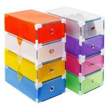nice hardcover drawers colorful shoebox transparent crystal pp plastic storage box the clear plastic shoe boxes