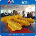 Buena calidad 6 personas 0.9mm PVC pesca con mosca de agua/inflable flyfish, volador inflable barco de plátano