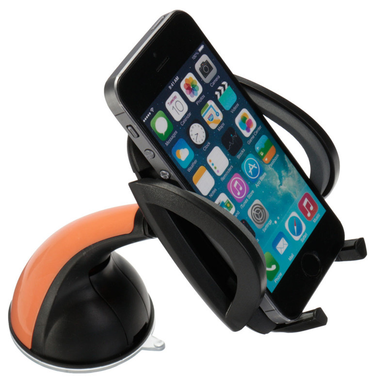 360 Rotatable Universal Adjustable <font><b>Car</b></font> Windshield Dashboard Mobile Cell <font><b>Phone</b></font> <font><b>Holder</b></font> <font><b>Sucker</b></font> Bracket For iPhone For Samsung