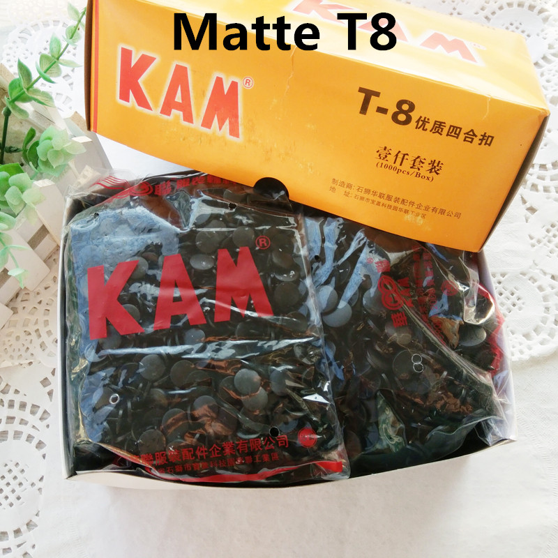 Collection Here Matte St8 cap Dia 14.1mm Kam Plastic Snap Button Plastic Colorfull Fastener Buttons,for Clothing,handbag,raincoat size 24