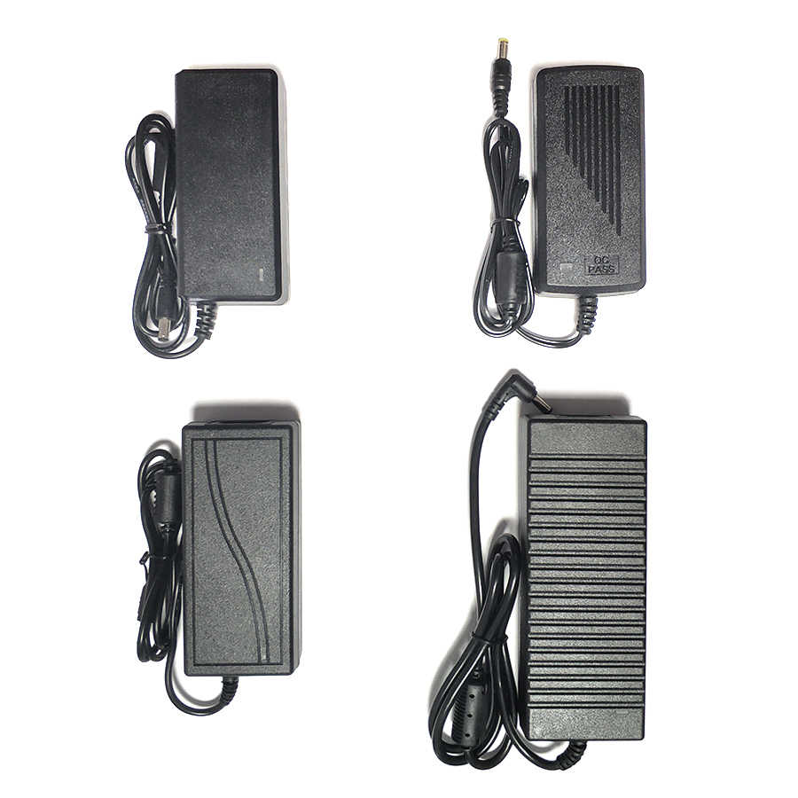 Riri Akan EU/US/UK Output DC 12V 3A Power Adapter untuk LED Strip Lampu LCD Monitor TV Box Switching Power Supply