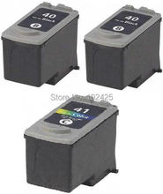 3PK For Canon PG40 CL41 Ink Cartridge PG-40 CL-41 PIXMA MP160 MP140 MP145 MP450 MX300 MX310 IP1600 IP1900 Printer