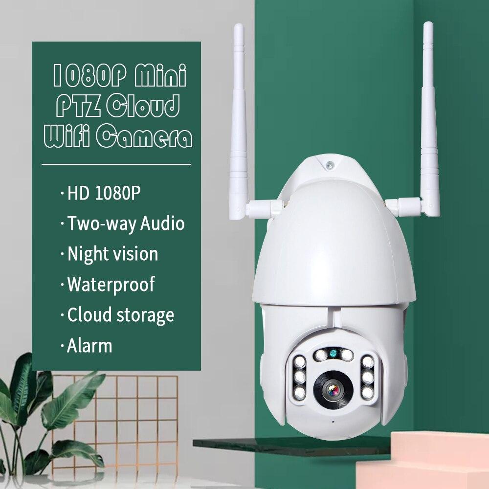 HTB1XfEKa5 1gK0jSZFq763paXXa7 INQMEGA 4X Digital Zoom H.265X 1080p PTZ IP Camera Outdoor Speed Dome CCTV Security Cameras WIFI Exterior IR Home Surveilance
