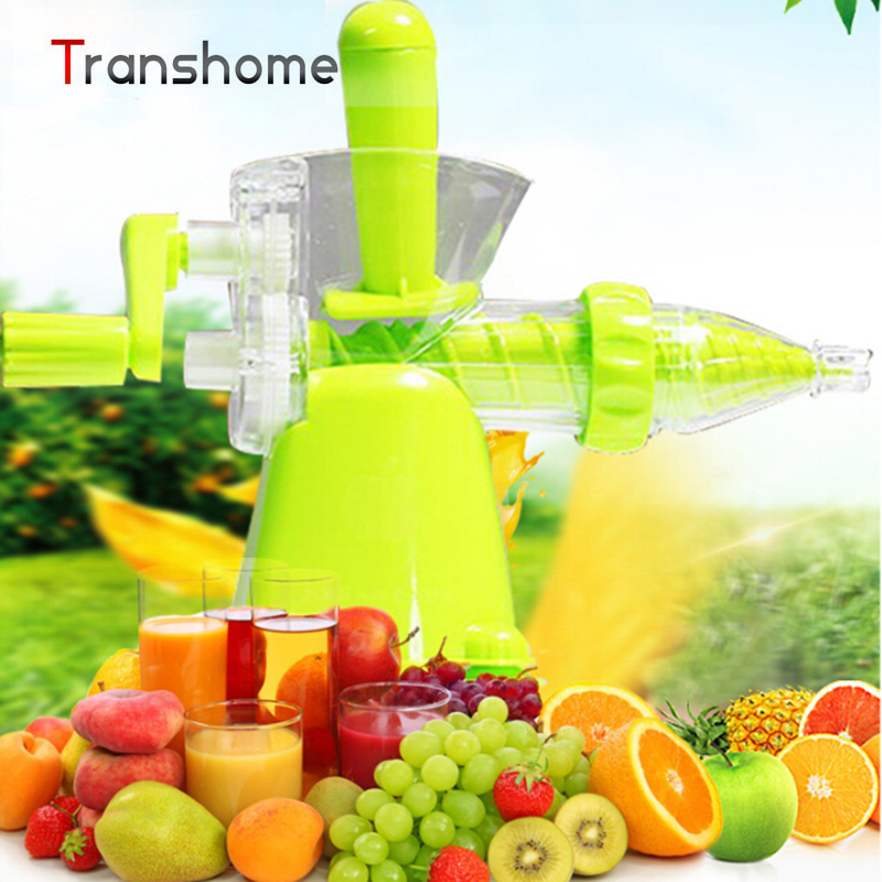 TRANSHOME Multifuctional Manual Juicer Lemon Squeezer Household Ice Cream Maker Fruit Juice Maker Kitchen Accessories