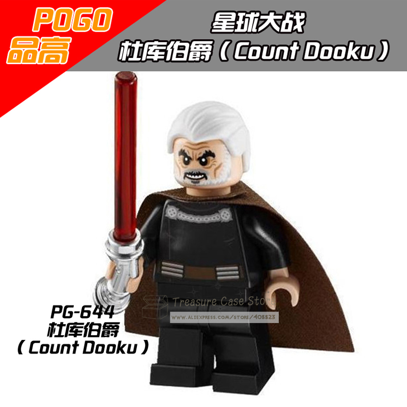 PG644 Count Dooku Figure Star Wars Building Toys Blocks