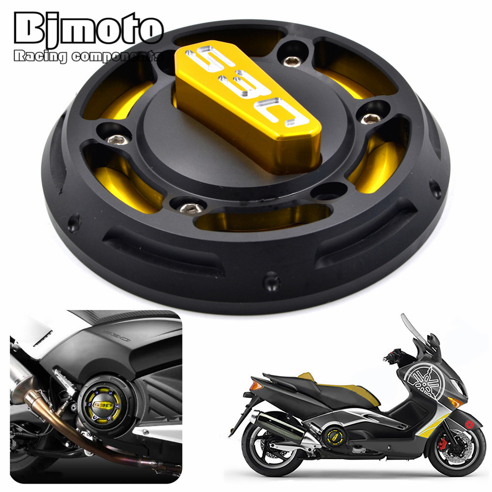 FOR YAMAHA TMAX 530 2012 2013 2014 2015 2016 Motorcycle CNC Aluminum T-max Engine Protective Cover hot sales best price for yamaha tmax 530 2013 2014 t max 530 13 14 tmax530 movistar abs motorcycle fairing injection molding